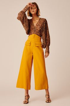 BNKR holds the largest range of Keepsake The Label in the world. Offering every collection in full, BNKR is your go-to for the freshest Keepsake The Label Mustard Pants, Pants For Women, Clothes For Women, Wide Leg Denim, Colored Pants, Pants Outfit, Colorful Fashion, Textiles, Style Inspiration