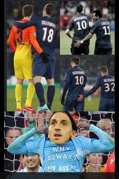 Football joke, Zlatan Ibrahimovic.