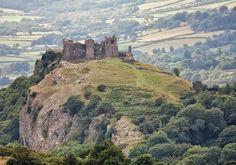 Carreg Cennen Castle,Llandeilo, Carmarthenshire.