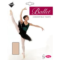 Ballet Convertible Tights £5.99 *NOW IN BLACK AND TAN* Soft and Durable Convertable ballet tights with cotton gusset, flat seams and comfort waistband. Incredible value for money product. *NOW AVAILABLE IN BLACK AND TAN*