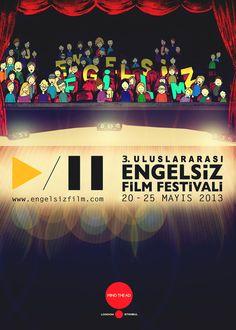 """Kısa İyidir, 3. Uluslararası Engelsiz Film Festivali'nin bu sene de basın sponsorlarından oldu!    """"Herkes İçin Eşit Yaşam Koşulları, Eşit Saygı ve Adalet"""" ana temasıyla düzenlenen festivalin aynı temalı kısa filmler için bir de yarışması var. Engellilik ve iş görememezlik hakkında kısa filmini çek Digital Film Academy'den eğitimleri kazan!    Unutma son başvuru tarihi 1 Nisan!    Detaylı bilgi için gideceğin adres burası : http://kisaiyidir.net/3-uluslararasi-engelsiz-film-festivali/"""