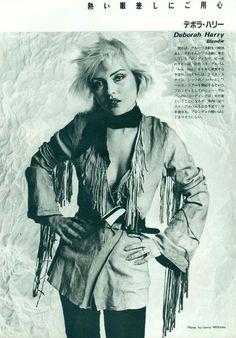 """blondie-poedie: """"Debbie Harry """""""