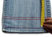Jeans kürzen mit Orginalsaum - die aufwändige Variante