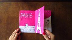Long trips and short phone calls by Verónica Rivera. Hice esto para The Sketchbook Project 2012, es una historia corta sobre un viaje a Europa, los lugares que visitaría y las llamadas que haría estando allá. Fue una experiencia increíble, y muy personal, y me encantó. Pueden leer más al respecto por acá: http://heyvero.com/post/22854556215/the-sketchbook-project-el-ano-pasado-me-entere