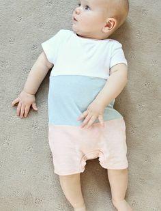 Baby Towelling Onsie Pink - Babies