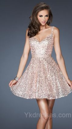 La Femme Fashion 2013 La Femme Prom Dress - short sequined prom dress - sweetheart neckline prom dress with belt - sequin prom dress - sequin prom dress with straps Dance Dresses, Short Dresses, Prom Dresses, Formal Dresses, Bridesmaid Dress, Quinceanera Dresses, Sparkly Homecoming Dresses, Short Sparkly Dresses, Homecoming 2014