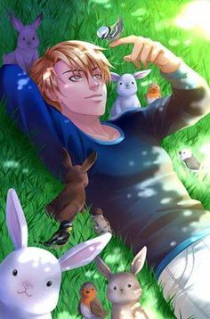 #Nathaniel #mycandylove  (Event of Easter) by mimishor93.deviantart.com on @DeviantArt