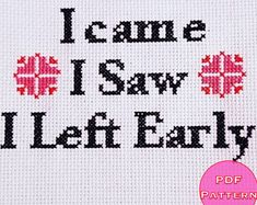 Image result for introvert cross stitch