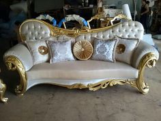 I have a weakness for exquisite furniture.