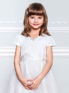 Help them celebrate their 'I do's' by browsing our range of wedding gifts and pick the perfect present to mark a special occasion! Holy Communion Dresses, Short Sleeve Cardigan, Flower Girl Dresses, Flower Girls, Ivory, Bridesmaid, Wedding Dresses, Wraps, Fashion