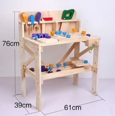 Play Workbench for Toddlers | Wood work bench | Funlandia playground systems