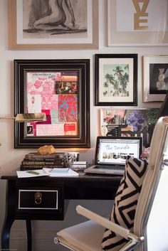 office space of the day...my home office - THE DECORISTA