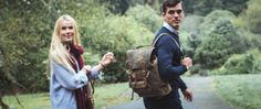 Canvas & Leather Backpack by Scaramanga