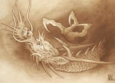 I truly have an appreciation for the shades, outlines, and detail. This is certainly an incredible layout if you want a Japanese Symbol, Japanese Tattoo Art, Japanese Art, Dragon Tattoo Art, Dragon Artwork, Vintage Mermaid, Mermaid Art, Mermaid Paintings, Tiger Dragon