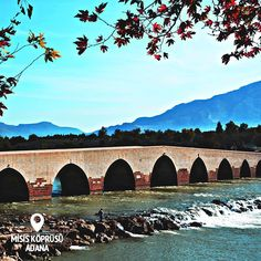 Travelers have been passing over the Ceyhan river since the 4th century, all thanks to the Misis Bridge.