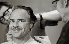 Marlon Brando prep for The Godfather (1972)