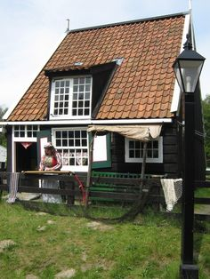 De tante van Tjorven: Het Marker vissershuisje