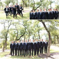 Navy blue groomsmen outfits | Canyonwood Ridge Venue in Texas | Modern indoor wedding venue | Austin Wedding Photographers | The Copper Collective Navy Blue Groomsmen, Groom And Groomsmen Style, Groomsmen Outfits, Bright Bridesmaid Dresses, Spring Wedding Inspiration, Indoor Wedding, Country Weddings, On Your Wedding Day, Engagement Photos