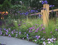 Hampton Court, NSPCC garden