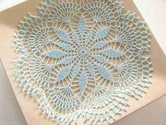 Diy Crochet, Crochet Doilies, Crochet Motif Patterns, Crochet Circles, Home Decor Accessories, Needlework, Diy Projects, Sewing, Knitting