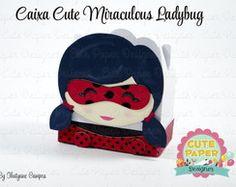Caixinha Miraculous Ladybug
