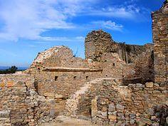 Les ruines du château de la famille de Pontevès