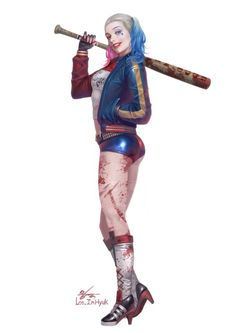 Suicide Squad - Harley Quinn by In-Hyuk Lee *