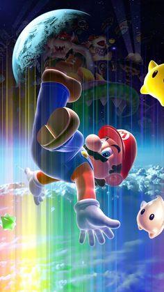 Super Mario Bros, Super Mario World, Super Mario Brothers, Wallpaper Para Iphone 6, Computer Screen Wallpaper, Galaxy Wallpaper, Wallpaper Backgrounds, Marvel Wallpaper, Cartoon Wallpaper