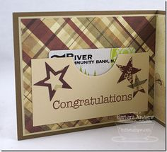 Paper Pursuits - graduation card or gift card idea - Gift Card Boxes, Card Tags, Gift Cards Money, Retirement Cards, Beautiful Handmade Cards, Congratulations Card, Graduation Cards, Money Holders, Card Holders