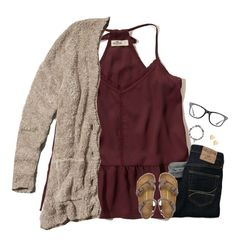 """""""🍂FALL🍂"""" by moseleym ❤ liked on Polyvore featuring Hollister Co., Abercrombie & Fitch, Birkenstock, Lipsy, Sydney Evan and Ray-Ban"""