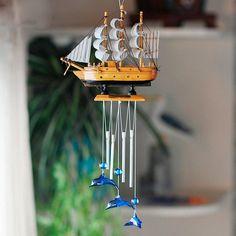 idée de carillon à vent DIY