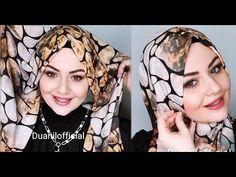 Farklı Şal Bağlama Modelleri - Hijab Tutorials Turban Tutorial, Hijab Tutorial, Scarfs, Hijab Fashion, Tutorials, Youtube, Scarves, Kitchens, Youtubers