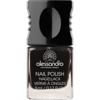 ALESSANDRO Nail Polish Midnight Black | Wellomed® Shop