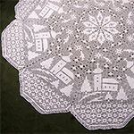 holiday tablecloth Crochet Pattern for Sale