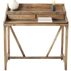 I pinned this Wyatt Writing Desk from the Inspired Office event at Joss and Main!