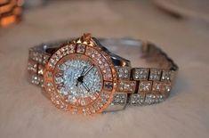 #jewelry #accessories #fashion #watch#women #ladies #Crystalwatch#ladies #bracelet #womenjewelry #Quartz