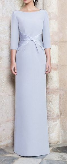 Dresses for mature women: Pure elegance! Formal Wear, Formal Dresses, Wedding Dresses, Mothers Dresses, Groom Dress, The Dress, Mother Of The Bride, Beautiful Dresses, Marie