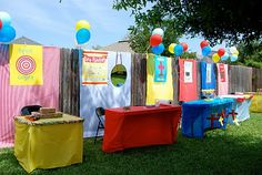 Backyard Carnival   A Small Snippet