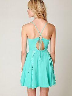 Real Love Dress, capri sea.