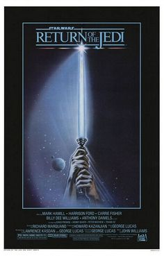 I didn't like this poster at all back in '83. I'm still not sure if I do. But it still brings back a flood of memories and the excitement that came with the movie.