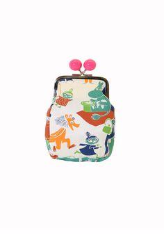 Moomin purse. Shop: http://shop.ivanahelsinki.com/collections/moomin-by-ivana-helsinki/products/moomin-purse-5