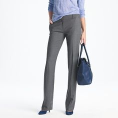 Dress pant #3: Grey wool trousers.