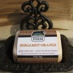 Check out Cross Wind Farm -... now available on our website! http://www.peterboroughcraftworks.ca/products/cross-wind-farm-goats-milk-soap-bergamot-orange?utm_campaign=social_autopilot&utm_source=pin&utm_medium=pin
