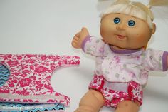 Cloth diapers for Cabbage Patch Kids