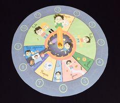 horloge_classe Activities For Kids, Diy And Crafts, Kindergarten, Clock, How To Plan, Homeschooling, Dutch, Content, Baby