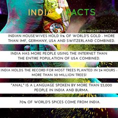 #Five #Facts #India #IndiaFacts #WorldFacts