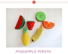 Fruit piñatas