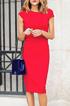 In love with this adorable red dress!! #reddress