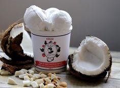 Kókuszos Hideg Nyalat jégkrém.  (Amelyik Hideg Nyalat jégkrém kókuszvirágcukrot tartalmaz, nem jó a 160 grammos diétában.)