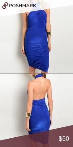 Selling this 🌹Royal Blue Bodycon Dress on Poshmark! My username is: pari09. #shopmycloset #poshmark #fashion #shopping #style #forsale #Dresses & Skirts